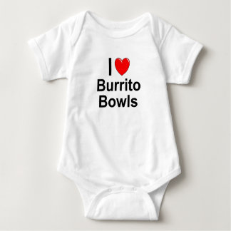 Burrito Bowls Baby Bodysuit