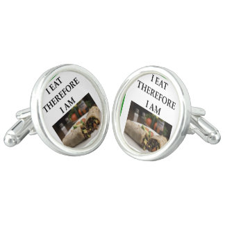 burrito cuff links