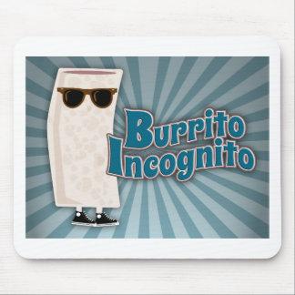 Burrito Incognito 2 Mouse Pad