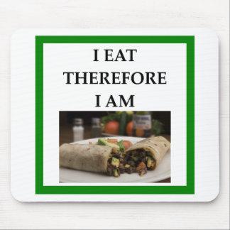 burrito mouse pad
