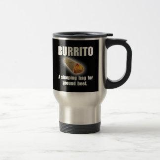 Burrito Sleeping Bag Stainless Steel Travel Mug