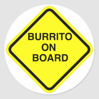 Burrito Sticker