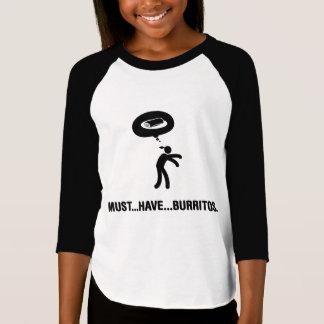 Burritos Lover Tee Shirt