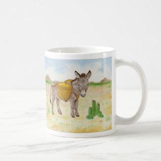 Burro with Basket mug