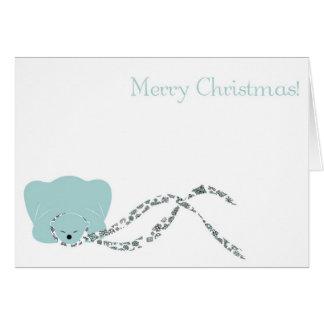 Burrr.... Greeting Card