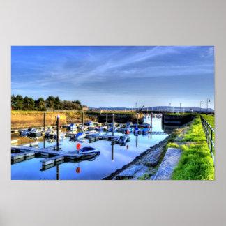 Burry Port East Inner Harbour Poster