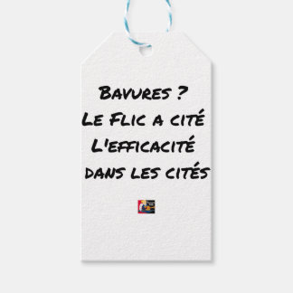 BURS? THE COP IN CITY EFFECTIVENESS IN GIFT TAGS