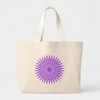 burst10 large tote bag