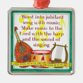 Burst into Jubilant Song Christmas Ornament
