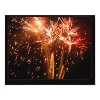 Burst N Sparkle 11 Cm X 14 Cm Invitation Card