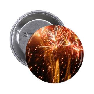 Burst N Sparkle 6 Cm Round Badge