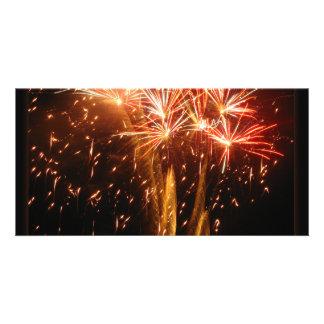 Burst N Sparkle Customised Photo Card