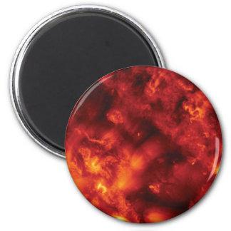 burst of flame magnet