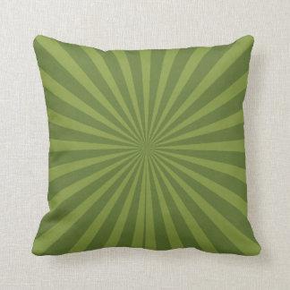 Burst of Green MOJO Pillow