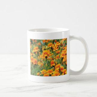 burst of orange color coffee mug