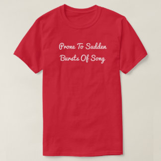 Burst of Song T-Shirt