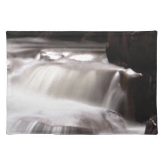 burst of water in creek placemat