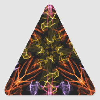 Burst Triangle Sticker