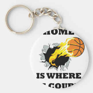 bursting bball4 key ring