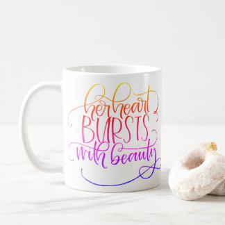 Bursting Beauty Coffee Mug