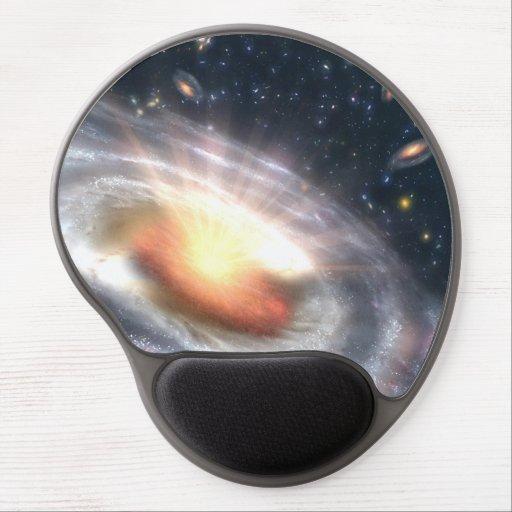 Bursting Black Hole Gel Mouse Pads
