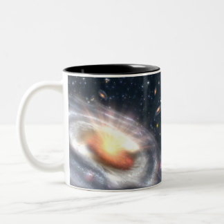 Bursting Black Hole Coffee Mugs