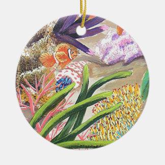 Bursting Ceramic Ornament