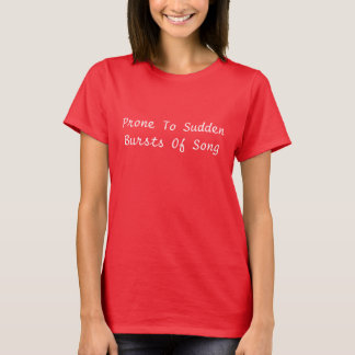 Bursts of Song T-Shirt