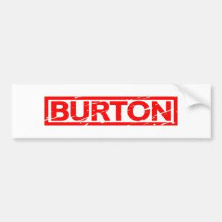 Burton Stamp Bumper Sticker
