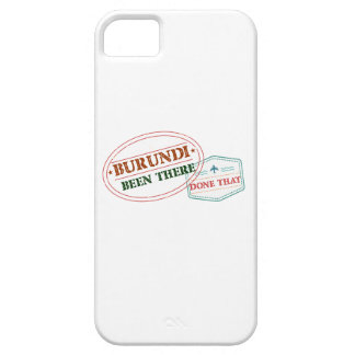 Burundi Been There Done That Barely There iPhone 5 Case