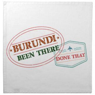 Burundi Been There Done That Napkin