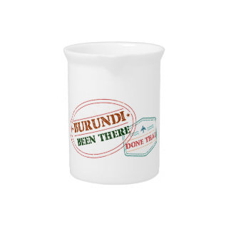 Burundi Been There Done That Pitcher