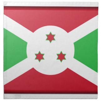 Burundi Flag Napkin