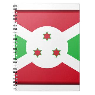 Burundi Flag Notebooks