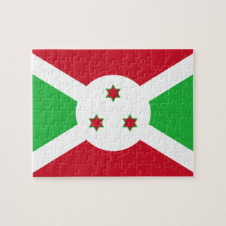 Burundi National World Flag Jigsaw Puzzle