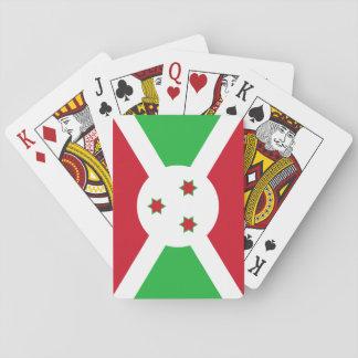 Burundi National World Flag Playing Cards