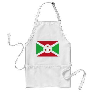 Burundi National World Flag Standard Apron
