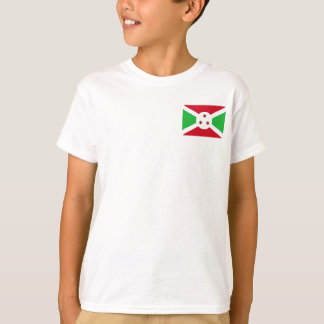 Burundi National World Flag T-Shirt