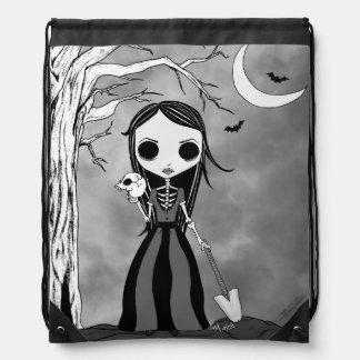 Bury the Bad Ones Drawstring Bag