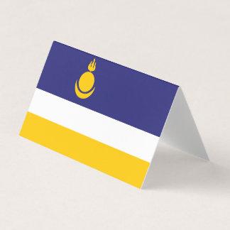 Buryatia Flag Business Card