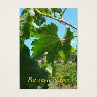 Bus. Card - Grape Vine