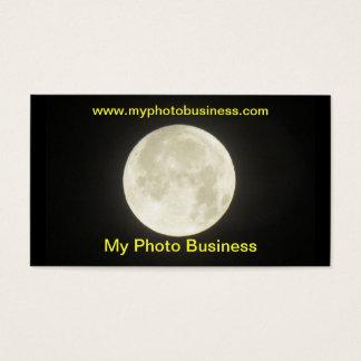 Bus. card - Moon