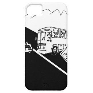 Bus Cartoon 3251 iPhone 5 Case