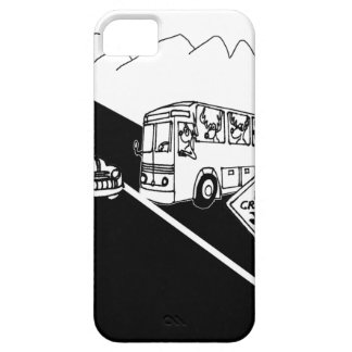 Bus Cartoon 3251 iPhone 5 Covers