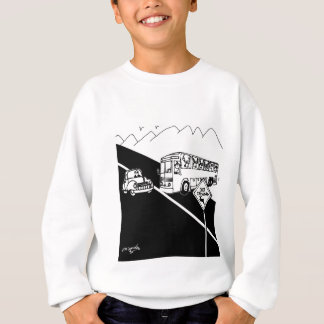 Bus Cartoon 3251 Sweatshirt