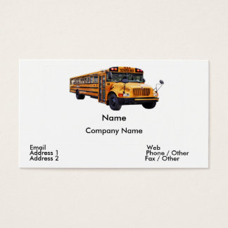 Bus Driver Business Card