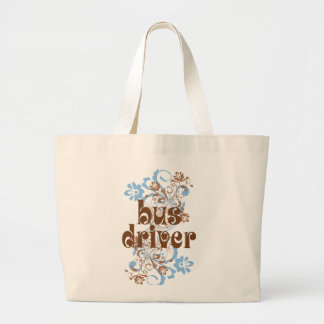 Bus Driver Cute Gift Jumbo Tote Bag