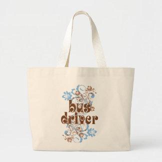 Bus Driver Cute Gift Jumbo Tote Bag