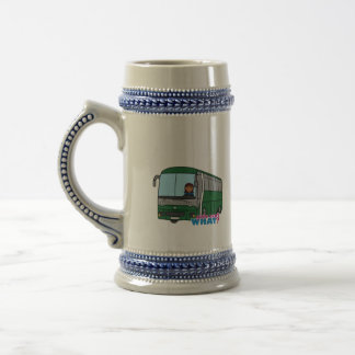 Bus Driver - Dark Beer Stein