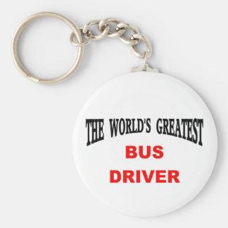 Bus Driver Key Ring